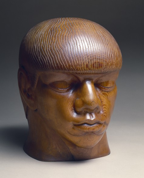 "Dorothy Austin, ""Noggin,"" c. 1933, white pine, Dallas Museum of Art, gift of an anonymous friend"