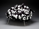 Fernando and Huemberto Campana, Banquete chair with pandas, designed 2006, Dallas Museum of Art, DMA/amfAR Benefit Auction Fund