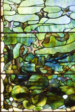 "Detail of Window with Starfish (""Spring"")"