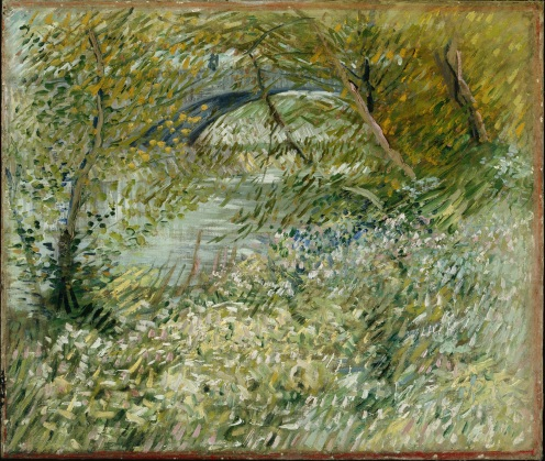 River Bank in Springtime, Vincent van Gogh