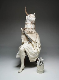 Marcel Dzama, The Minotaur, 2008, Dallas Museum of Art, DMA/amfAR Benefit Auction Fund © Marcel Dzama