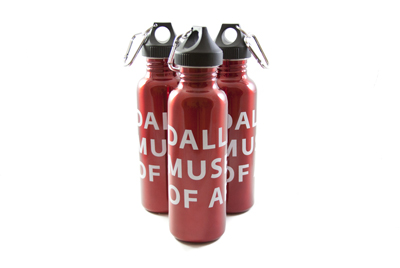 DMA Stainless Steel Water Bottle, $19.95
