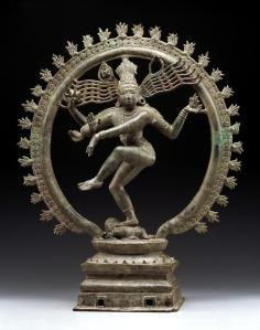 Shiva Nataraja, 11th century, Dallas Museum of Art, gift of Mrs. Eugene McDermott, the Hamon Charitable Foundation, and an annonymous donor in honor of David T. Owsley, with additional funding from The Cecil and Ida Green Foundation and the Cecil and Ida Green Acquisition Fund