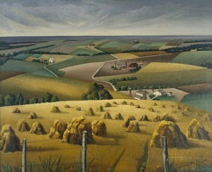 Florence E. McClung, Squaw Creek Valley, 1937, oil on canvas, Dallas Museum of Art, gift of Florence E. McClung