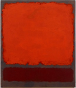 Mark Rothko, Orange, Red and Red, 1962, oil on canvas, Dallas Museum of Art, gift of Mr. and Mrs. Algur H. Meadows and the Meadows Foundation, Incorporated