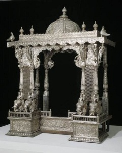Shrine, late 18th-19th century, silver over wood, Dallas Museum of Art, gift of David T. Owsley via the Alvin and Lucy Owsley Foundation