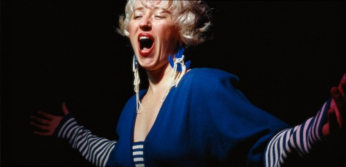 "Cindy Sherman. Untitled #119. 1983. Chromogenic color print, 48 1/2 x 7' 10"" (115.6 x 238.8 cm). Courtesy the artist and Metro Pictures, New York © 2012 Cindy Sherman"