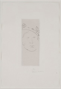 Henri Matisse, Loulou, 1914, etching, Dallas Museum of Art, Foundation for the Arts Collection, gift of the Wendover Fund