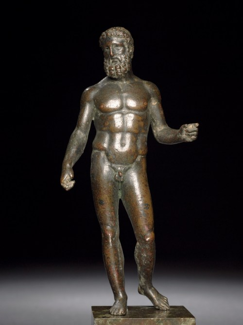 Bronze statue of Zeus, Roman period, first century AD, after Greek original of about 440 BC, said to be from Greece, GR 1824,0446.16 (Bronze 910 AN381063001) © The Trustees of the British Museum (2013). All rights reserved.