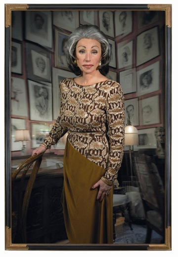 """Cindy Sherman. Untitled #474. 2008. Chromogenic color print, 7' 6 3/4"""" x 60"""" (230.5 x 152.4 cm). The Museum of Modern Art, New York. Courtesy the artist and Metro Pictures, New York © 2012 Cindy Sherman"""