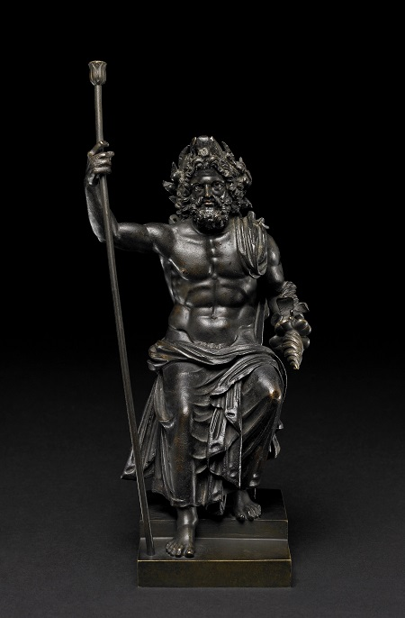 Bronze statuette of Zeus Roman period, first–second century AD, said to be from Hungary  9 5/16 x 4 5/16 x 4 3/4 in.  GR 1865,0103.36 (Bronze 909) © The Trustees of the British Museum (2013). All rights reserved.