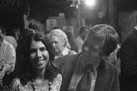 Two members the Dallas art scenes who have been influential for decades: Janet Kutner and Paul Rogers Harris c.1960s, Courtesy of Paul Rogers Harris, Dallas, TX