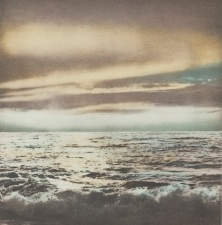 Gerhard Richter, Galerie Heiner Friedrich, Dunkes, Ocean (Seelandschaft), 1971, multicolored heliogravure on ivory rag paper, Dallas Museum of Art, Dallas Museum of Art League Fund, Roberta Coke Camp Fund, General Acquisitions Fund, DMA/amfAR Benefit Auction Fund, and the Contemporary Art Fund: Gift of Mr. and Mrs. Vernon E. Faulconer, Mr. and Mrs. Bryant M. Hanley, Jr., Marguerite and Robert K. Hoffman, Howard E. Rachofsky, Deedie and Rusty Rose, Gayle and Paul Stoffel, and two anonymous donors