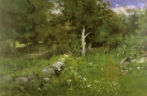 George Inness, Summer Foliage, 1883, oil on canvas, Dallas Museum of Art, bequest of Joel T. Howard