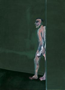 Francis Bacon, Walking Figure, 1959-1960; oil on canvas; Dallas Museum of Art, Foundation for the Arts Collection, gift of Mr. and Mrs. J.O. Lambert, Jr. and Mr. and Mrs. David Garrison, © Estate of Francis Bacon / Artists Rights Society (ARS), New York / DACS, London