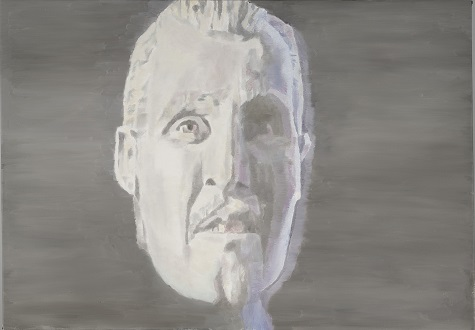 Luc Tuymans, The Man From Wiels II, 2008, oil on canvas, The Rachofsky Collection and the Dallas Museum of Art through the DMA/amfAR Benefit Auction Fund