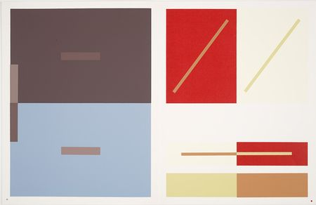 "Josef Albers ""The Interaction of Color"" Plate VII"