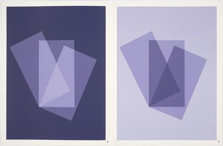 "Josef Albers ""The Interaction of Color"" Plate XI"