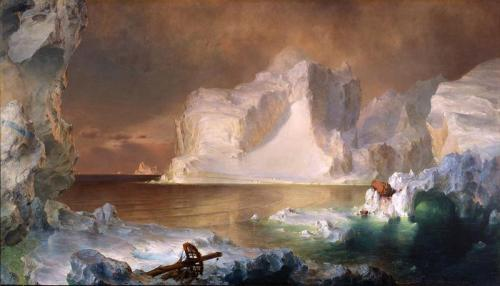 Frederic Edwin Church, The Icebergs, 1861, Dallas Museum of Art, gift of Norma and Lamar Hunt