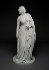 Anne Whitney, Lady Godiva, c. 1861–64, marble, Dallas Museum of Art, gift of Dr. Alessandra Comini in memory of Dr. Eleanor Tufts, who discovered the Massachusetts-backyard whereabouts of this long-forgotten statue and brought it to Dallas.