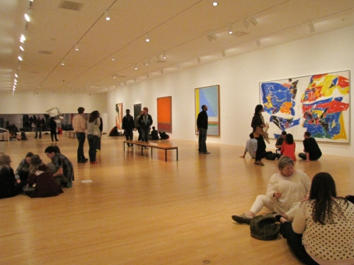 Creativity Challenge in the Hoffman Gallery