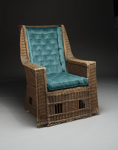 Gustav Stickley The Craftsman Workshops Willow Armchair C 1913