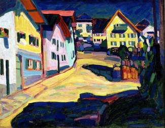 Wassily Kandinsky, Murnau, Burggrabenstrasse 1, 1908, 1908, Dallas Museum of Art, Dallas Art Association Purchase, 1963.31