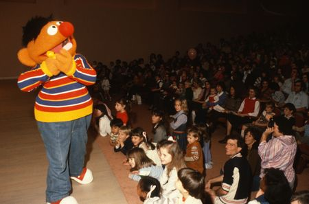 Ernie at the DMA, 1984