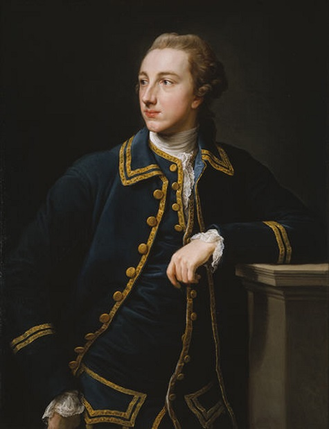 Pompeo Girolamo Batoni, Portrait of a Man in a Blue Suit, 1760s, oil on canvas, Dallas Museum of Art, gift of Leon A. Harris, Jr.