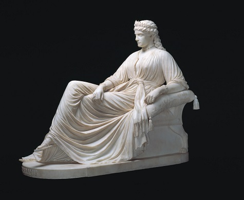 William Wetmore Story, Semiramis, designed 1872, carved 1873, marble, Dallas Museum of Art, gift of Morynne and Robert E. Motley in memory of Robert Earl Motley, Jr., 1942-1998