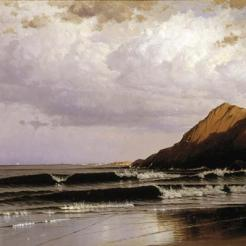 Alfred Thompson Bricher, Time and Tide, c. 1873, Dallas Museum of Art, Foundation for the Arts Collection, gift of Mr. and Mrs. Frederick Mayer