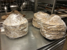 pie crusts ready to be frozen