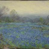 Julian Onderdonk, Untitled (Field of Bluebonnets), 1918-1920, Dallas Museum of Art, bequest of Margaret M. Ferris