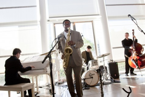 Jazz in the Atrium at the Dallas Museum of Art.