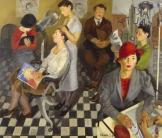 Isaac Soyer, Art Beauty Shoppe, 1934, Dallas Museum of Art, gift of the Public Works of Art project