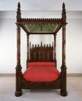 Crawford Riddell, Bed, c. 1844, Dallas Museum of Art, gift of three anonymous donors, Friends of the Decorative Arts Fund, General Acquisitions Fund, Discretionary Decorative Arts Fund, and the Boshell Family Foundation