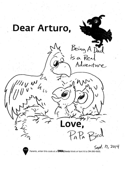 """Being a Dad is a Real Adventure - Love, Papa Bird"""