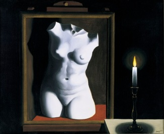 René Magritte, The Light of Coincidences, 1933, oil on canvas, Dallas Museum of Art, gift of Mr. and Mrs. Jake L. Hamon © C. Herscovici, Brussels / Artists Rights Society (ARS), New York