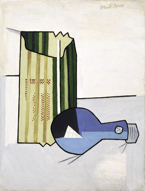 Stuart Davis, Electric Bulb, 1924, oil on board, Dallas Museum of Art, Fine Arts Collectible Fund © Estate of Stuart Davis / Licensed by VAGA, New York, NY Reproduction of this image, including downloading, is prohibited without written authorization from VAGA, 350 Fifth Avenue, Suite 2820, New York, NY 10118. Tel: 212-736-6666; Fax: 212-736-6767; e-mail: info@vagarights.com