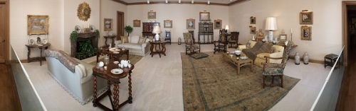 The Grand Salon in The Wendy and Emery Reves Collection at the Dallas Museum of Art