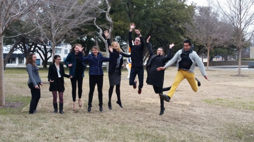 Jumping at the Kimbell