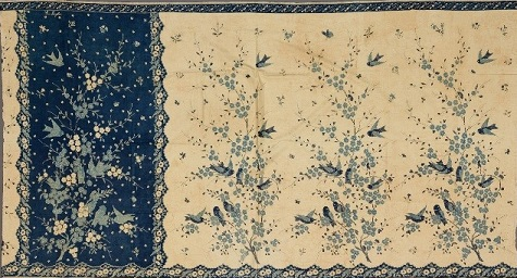 Woman's Sarong, 1910, Java, Pekalongan, Indonesia, batik on commercial cotton, Dallas Museum of Art, gift of Mr. and Mrs. Jerry Bywaters in memory of Paul and Viola van Katwijk