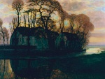 Piet Mondrian. Farm Near Duivendrecht, in the Evening, c. 1916 (reprise of a compositional series from 1905 to 1908), oil on canvas, Dallas Museum of Art, gift of The Edward and Betty Marcus Foundation © 2012 Mondrian/Holtzman Trust c/o HCR International Washington DC