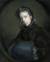 Sir Joshua Reynolds, Portrait of Miss Mary Pelham, c. 1757, oil on canvas, Dallas Museum of Art, gift of Michael L. Rosenberg