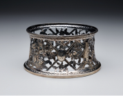 Dish ring, 1774, Matthew West, Irish, designer, silver, Dallas Museum of Art, gift of David T. Owsley in memory of his parents, Alvin M. Owsley, U.S. Minister to the Irish Free State, 1935-37, and Mrs. Owsley via the Alvin and Lucy Owsley Foundation
