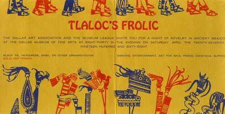 Tlaloc's Frolic held on April 27, 1968.
