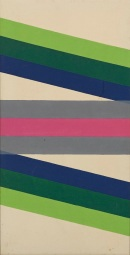 Paul Reed, Interchange XII, 1966, acrylic on canvas, Dallas Museum of Art, gift of John W. English 1967.22