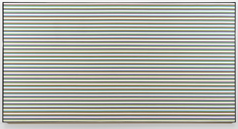 Bridget Riley, Rise 2, 1970, acrylic on canvas, Dallas Museum of Art, Foundation for the Arts Collection, gift of Mr. and Mrs. James H. Clark © 1970 Bridget Riley