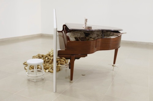 Matthew Barney, The Cloud Club, 2002, mixed media, Dallas Museum of Art, Contemporary Art Fund: Gift of Arlene and John Dayton, Mr. and Mrs. Vernon E. Faulconer, Mr. and Mrs. Bryant M. Hanley, Jr., Marguerite and Robert K. Hoffman, Cindy and Howard Rachofsky, Deedie and Rusty Rose, Gayle and Paul Stoffel, and three anonymous donors; DMA/amfAR Benefit Auction Fund; and Roberta Coke Camp Fund, © 2002 Matthew Barney, courtesy Barbara Gladstone, 2003.24.1.A-D