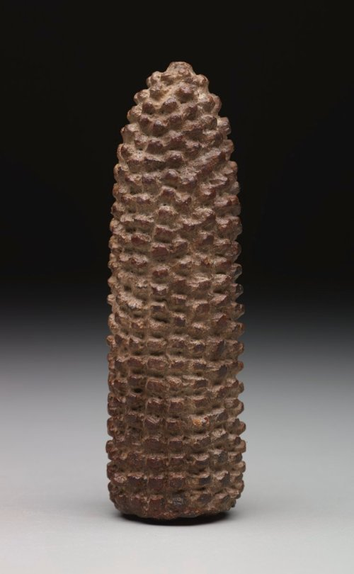Corn Cob Effigy, Pre-Columbian, 900-1500 A.D.?, ceramic, Dallas Museum of Art, gift of Mrs. Nancy G. Sayles, 1987.377